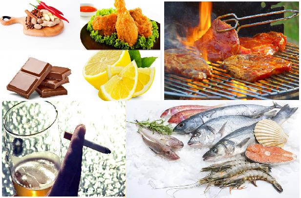 Những món ăn gây nguy hiểm đến thai nhi
