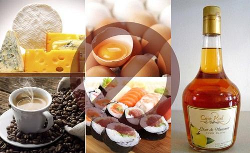 Danh sách những đồ ăn có thể làm sảy thai mẹ nên chú ý