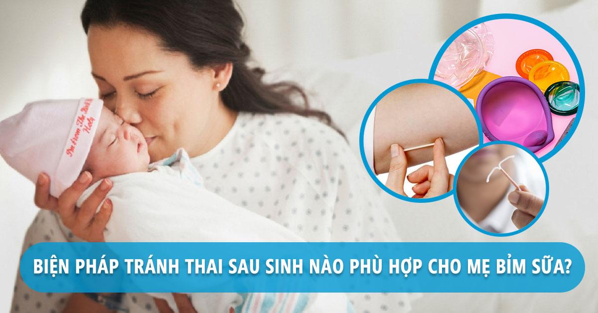 Bien Pha Tranh Thai Sau Sinh