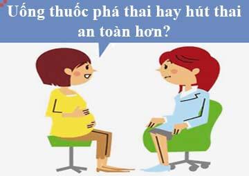 Uống Thuốc Phá Thai Hay Hút Thai An Toàn Hơn