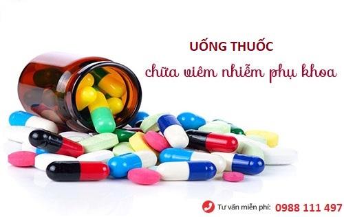 Viêm phụ khoa uống thuốc gì?