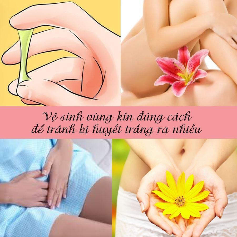 Ve Sinh Vung Kin Dung Cach De Tranh Bi Huyet Trang Ra Nhieu