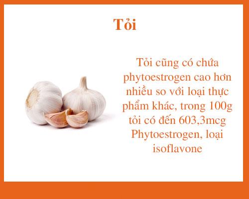 An Toi De Tang Noi Tiet To Estrogen