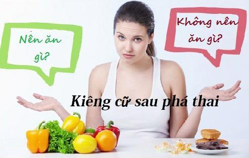 Sau Phá Thai Cần Kiêng Gì Không?