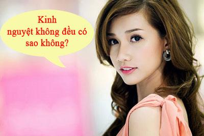 Kinh Nguyet Khong Deu Thang Co Thang Khong Co Sao Khong