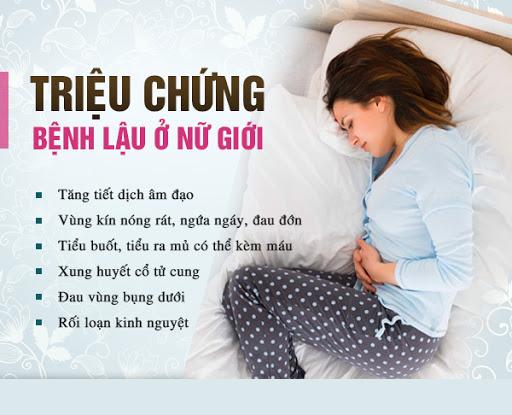 Bieu Hien Benh Lau O Nu
